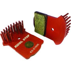 Kool Stop Disc Aero Bremsebelægninger Magura MT2/MT4/MT6/MT8 rød